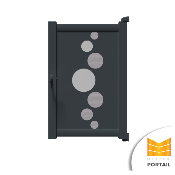 Portillon Design OXALIS - Anthracite
