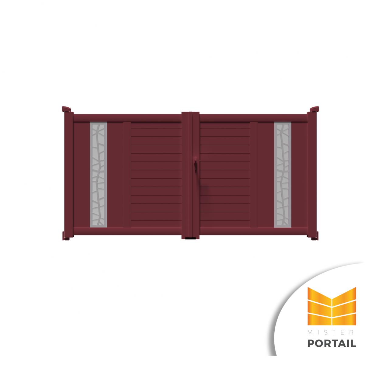 Mousse Sur Portail Pvc portail battant design iberis