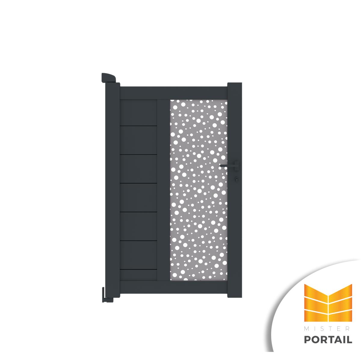 Mousse Sur Portail Pvc portillon design bruyere