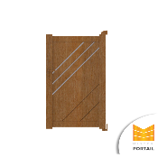 Portillon Moderne EDEL - Anthracite