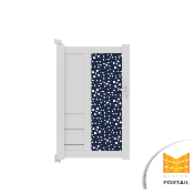 Portillon Design BRUYERE BICOLORE