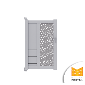 Portillon Design BRUYERE - Anthracite