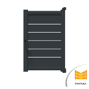 Portillon Moderne ONONIS - Anthracite