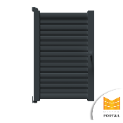 Portillon Moderne PYROLE - Anthracite