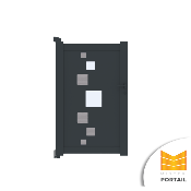 Portillon Design RHIMANTHE - Anthracite