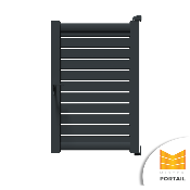 Portillon Moderne VELAR - Anthracite