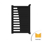 Portillon Moderne CORYDALE - Anthracite
