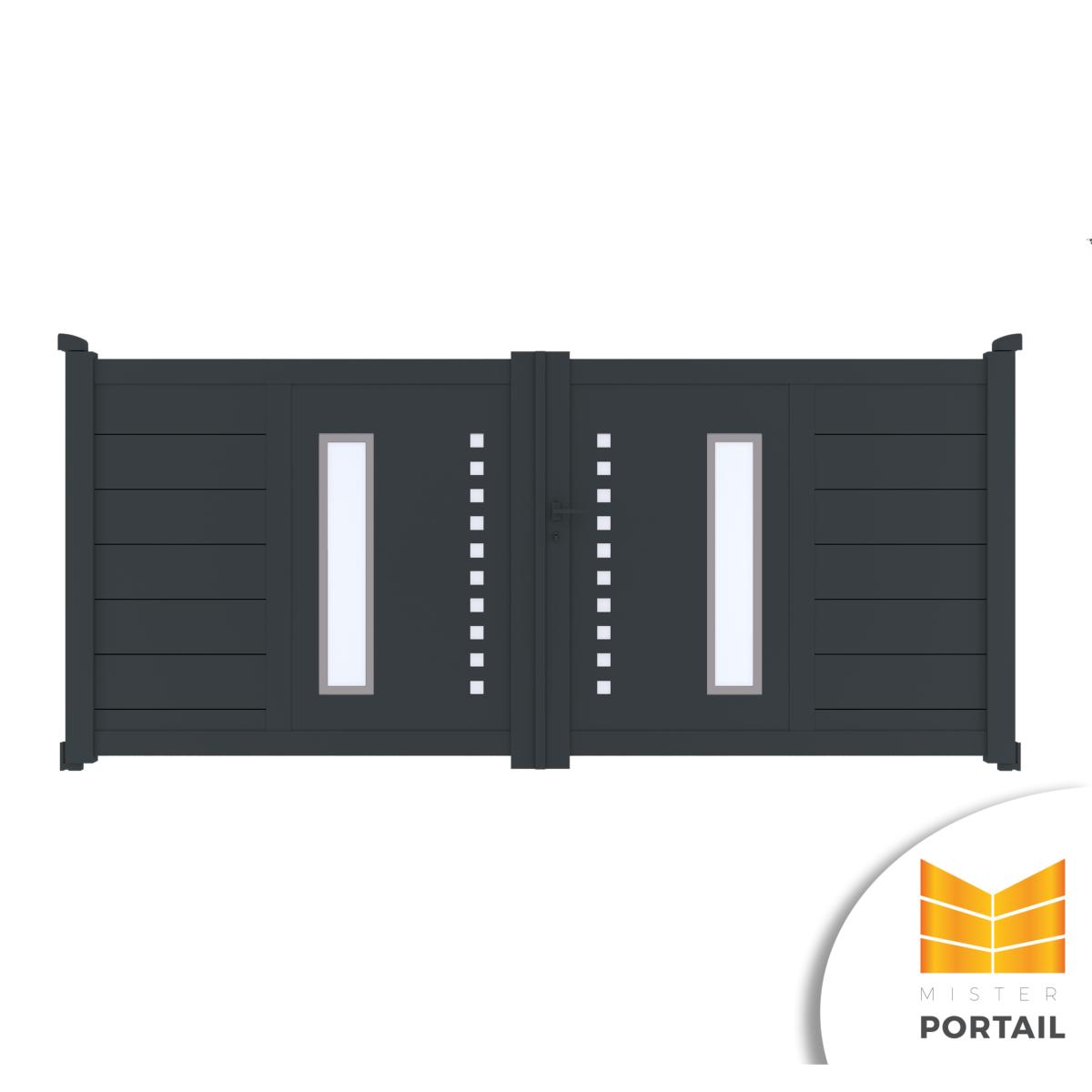 Mousse Sur Portail Pvc portail battant design ancolie
