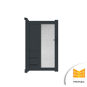 Portillon Design ASTRAGALE - Anthracite